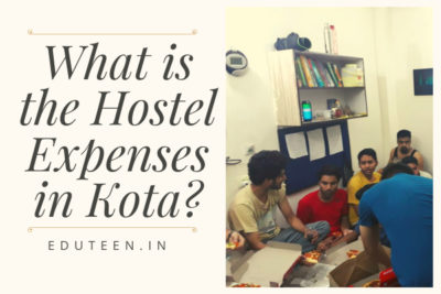 Hostel expenses in Kota