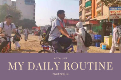 Student DAily ROutine in Kota
