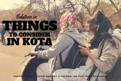 Things to carry in Kota